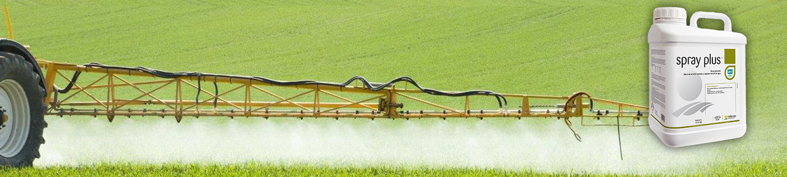 Spray Plus poprawia skuteczność agrochemikalii i nawozów