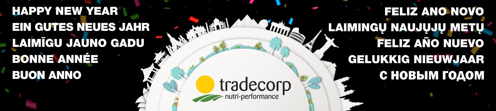 Szczęśliwego Nowego Roku 2019 od Tradecorp!